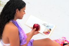 Women's health education Stock Photo