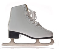 Women's ice skate Stock Photo