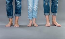 Women's jeans. Stock Photos