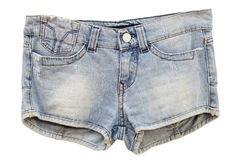 Women's Jeans Shorts Stock Images