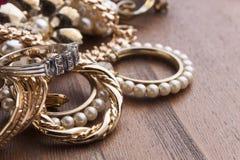 Women's jewelry Stock Photos