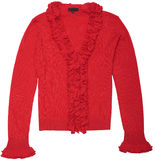 Women's Knitted blouse. Stock Photo