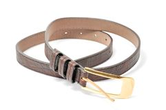 Women's Leather Belt Stock Photography