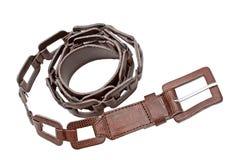 Women's Leather Belt Royalty Free Stock Image