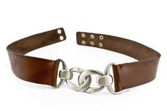 Women's leather belt Royalty Free Stock Photo