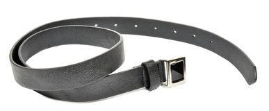 Women's Leather Belt Royalty Free Stock Photography