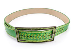 Women's leather belt Stock Photography