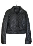 Women's Leather Jacket Stock Photo
