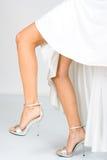 Women`s legs Stock Image