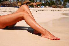Women's legs Stock Photography