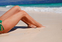 Women's legs Stock Photo
