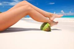 Women's legs Royalty Free Stock Image