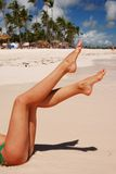 Women's legs Stock Image