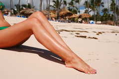 Women's legs Stock Photos