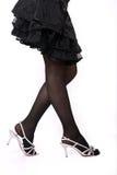 Women's legs Stock Images