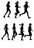 Women's Marathon Stock Photos