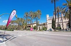 Women's marathon in Palma Royalty Free Stock Image