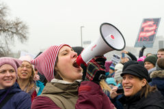 2017 Women`s March Minnesota Royalty Free Stock Image