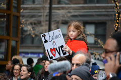 Women`s march. Royalty Free Stock Photography