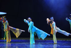 Women's martial arts-The dance drama The legend of the Condor Heroes Stock Photography