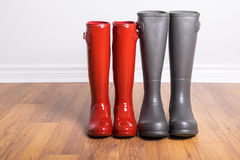 Women's and Men's Rubber Boots #2 Stock Photo
