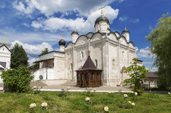 Women's monastery, cathedral of Presentation of Mary. Serpukhov, Moscow region, Stock Images