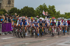 Women`s Olympic Road Race Royalty Free Stock Image