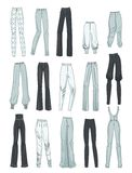 Women's pants Stock Photos