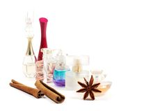 Women's perfume Royalty Free Stock Images