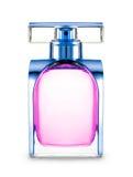 Women's perfume in beautiful bottle Royalty Free Stock Image