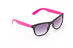 Women's Pink And Black Sun Glasses. Stock Images