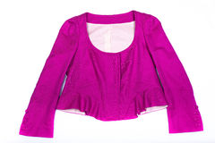 Women's pink blouse Royalty Free Stock Image