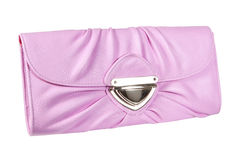 Women's pink purse Stock Photography