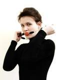 Women's portrait Stock Images