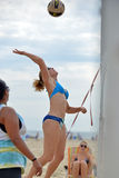 2013 Women's Pro Beach Volleyball Royalty Free Stock Photography