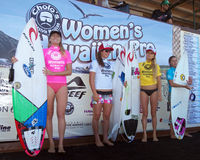 Women's Pro Finalists Stock Images