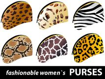 Women`s purses Stock Image