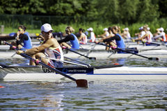 Women's Quadruple Sculls Royalty Free Stock Image