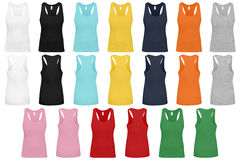 Women´s Racer Back Tank Top. Stock Photography