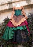 Women`s Renaissance Clothing Dresses Boutique Royalty Free Stock Photos