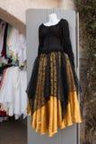 Women`s Renaissance Clothing Dresses Boutique Stock Images