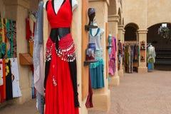 Women`s Renaissance Clothing Dresses Boutique Stock Photography