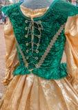 Women`s Renaissance Clothing Dresses Royalty Free Stock Image