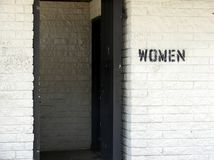 Women's Restroom Royalty Free Stock Images