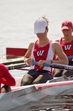Women's Rowing Team - Lead Stock Image