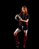 Women's Rugby Stock Image