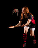 Women's Rugby Royalty Free Stock Photos