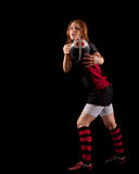 Women's Rugby Stock Photography