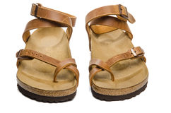 Women's sandals Stock Photos
