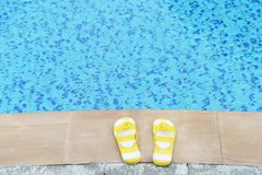 Women's sandals Royalty Free Stock Images